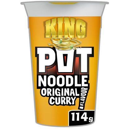 Picture of Pot Noodle King Original Curry 114G