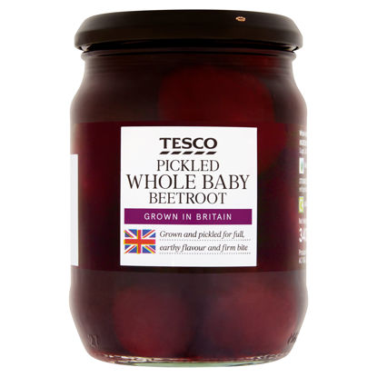 Picture of Tesco Whole Pickled Beetroot 340G