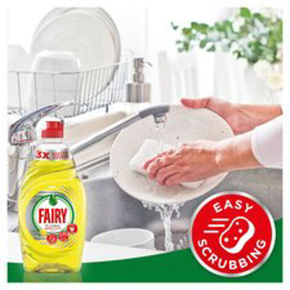 Picture of Fairy Platinum Washing Up Liquid Lemon 625Ml