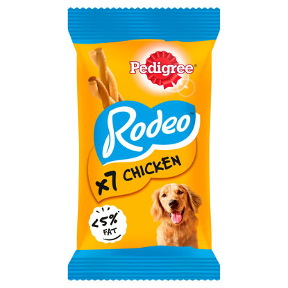 Picture of Pedigree Rodeo With Chicken 7 Sticks 123G