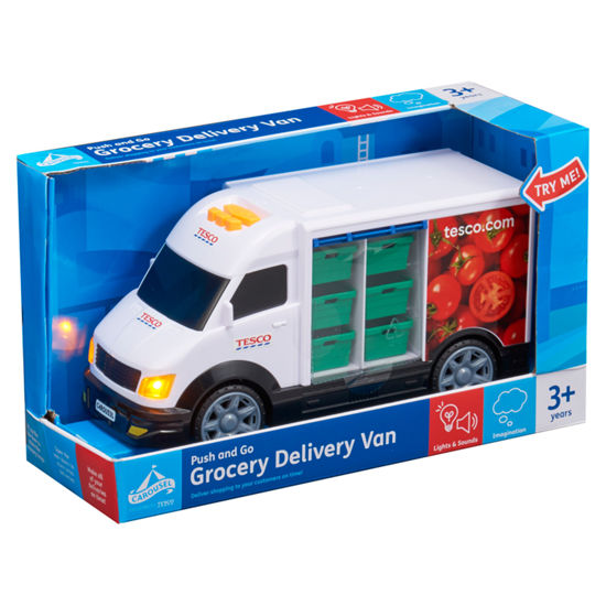 Picture of Carousel Tesco Grocery Delivery Van