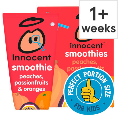 Picture of Innocent Kids Smoothie Peach Passion Fruit 4X150ml