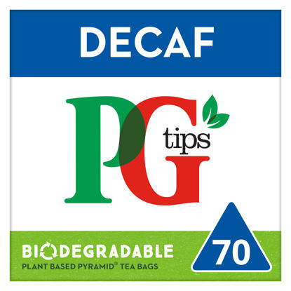 Picture of PG tips Decaffeinated Tea 70
