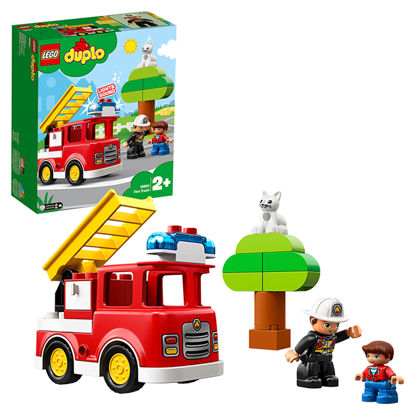 Picture of LEGO DUPLO Fire Truck Toys for 2 Year Olds, 10901