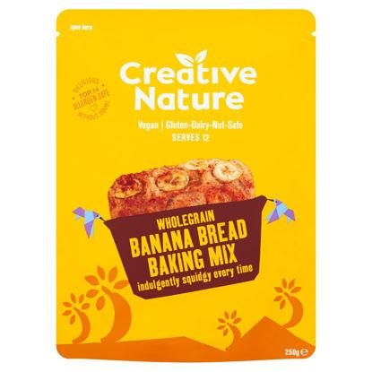 Picture of Creative Nature W.Grain Banana Bread Baking Mix 250G