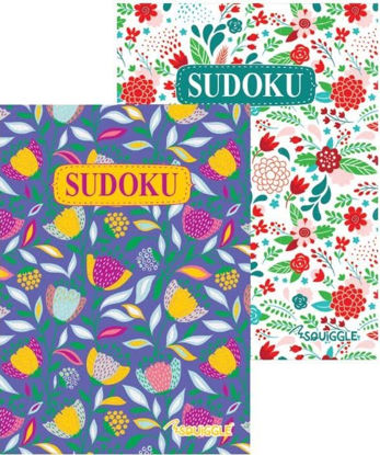 Picture of FLORAL SUDOKU BOOK PK6