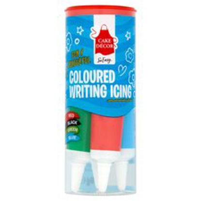 Picture of Cake Decor Coloured Writing Icing 76G