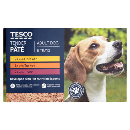 Picture of Tesco Tender Pate Multipack 6 X 300G