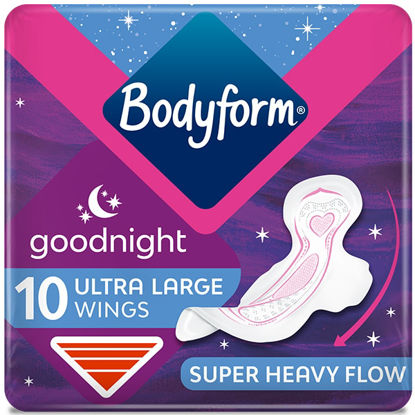 Picture of Bodyform Ultra Goodnight Pads x10