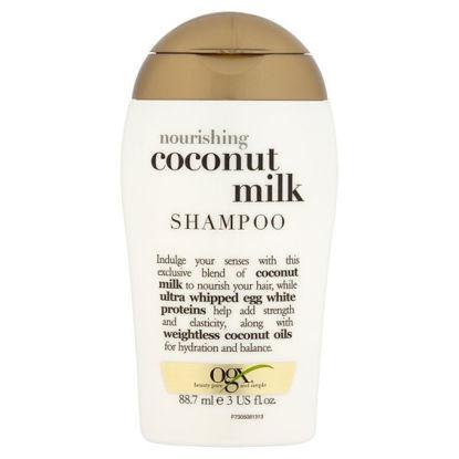 Picture of OGX Nourishing Coconut Milk Travel Size Shampoo 887ml
