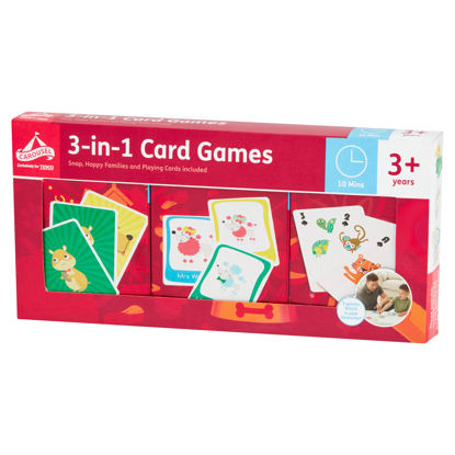Picture of Carousel 3 In 1 Card Games