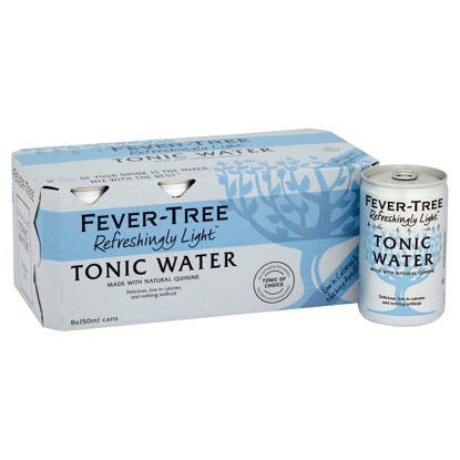 Picture of Fever-Tree Refreshingly Light Tonic Water 8 x 150ml