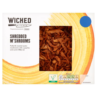 Picture of Wicked Kitchen Shredded M'shrooms 250G
