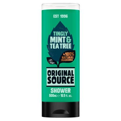 Picture of Original Source Mint & Tea Tree Shower Gel 500ml