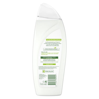 Picture of Simple Kind To Skin Nourishing Shower Cream 500Ml