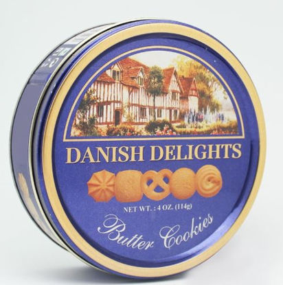 Picture of Danish Delights Butter Cookies - 114g - Exp 10/20