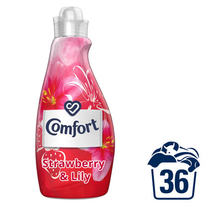 Picture of Comfort Strawberry & Lily Fabric Conditioner 36 Wash 1.26 l