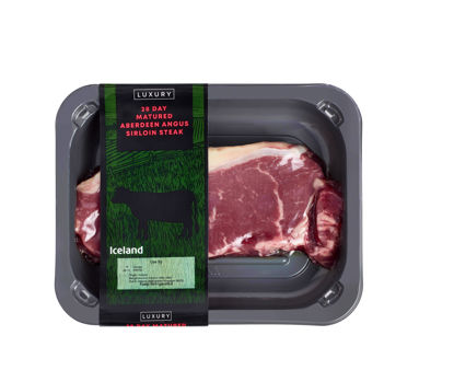 Picture of Iceland Luxury 28 Day Matured Aberdeen Angus Sirloin Steak 170g