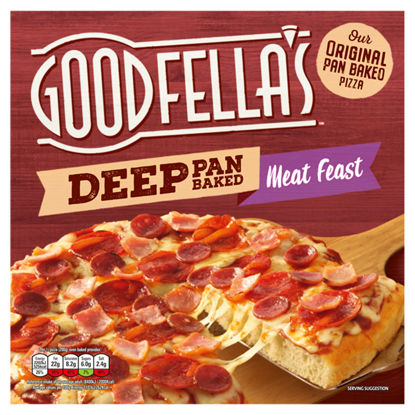 Picture of Goodfella's Deep Pan Baked Meat Feast Pizza 415g
