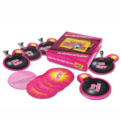 Picture of Secret Missions  Girlie Nights Game