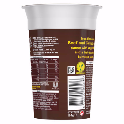 Picture of Pot Noodle King Beef & Tomato 114G