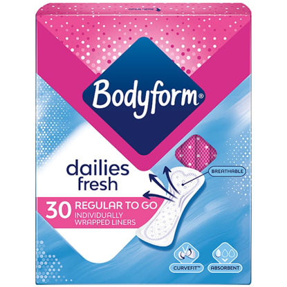 Picture of Bodyform Normal Wrapped Liner x30