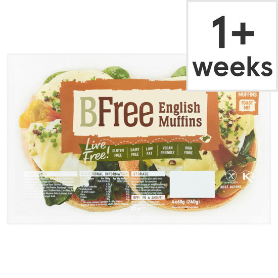 Picture of Bfree English Muffins 4X60g