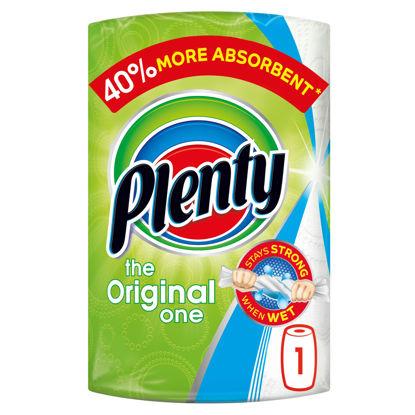 Picture of Plenty White Kitchen Roll 100 Sheets