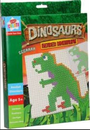 Picture of Kids Create Your Own Beaded Dinosaurs - 800 Beads