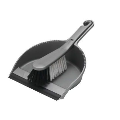 Picture of Addis Metallic Dustpan and Soft Brush Set - 510390