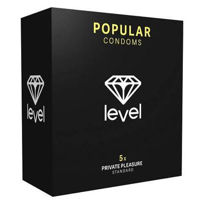 Picture of Level Popular Condoms 5 Pack