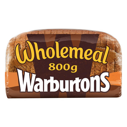 Picture of Warburtons Wholemeal Medium Bread 800G