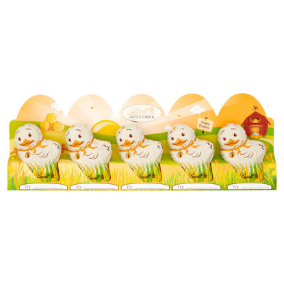 Picture of Lindt Little Chick Milk Chocolate 5 x 50g