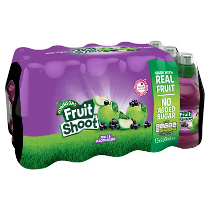 Picture of Robinsons Fruit Shoot Apple & Blackcurrant 15 x 200ml