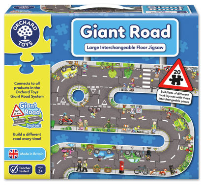 Picture of Orchard Toys Giant Road Floor Puzzle