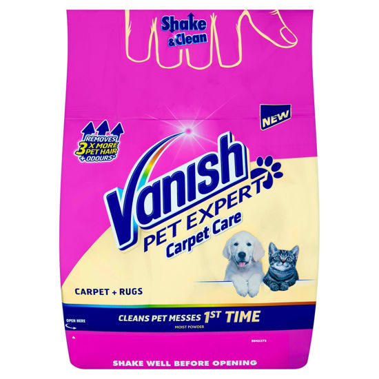 Picture of Vanish Carpet Cleaner + Upholstery, Pet Expert Powder, Large Area Cleaning, 650 g