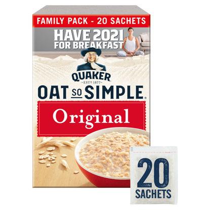 Picture of Quaker Oat So Simple Original Family Pack Porridge Sachets 20x27g