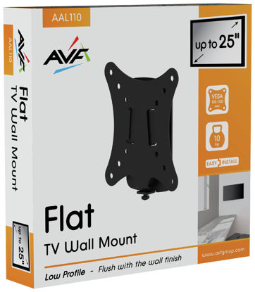 Picture of AVF Standard Flat to Wall Up to 25 Inch TV Wall Bracket