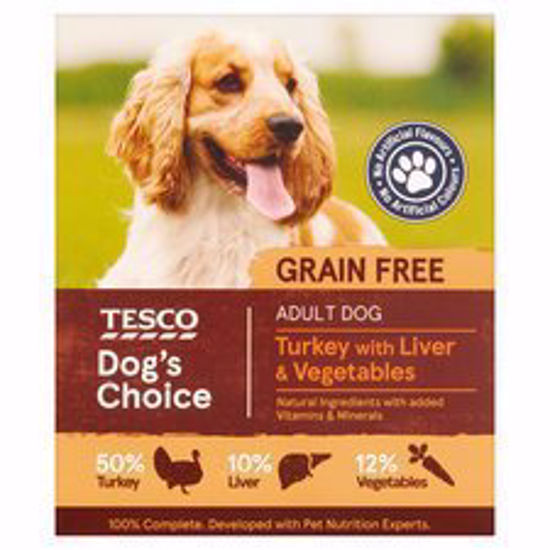 Picture of Tesco Turkey & Liver With Vegetables Dog Food Tray 400G