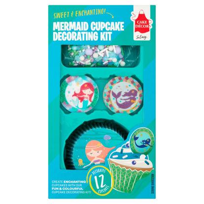 Picture of Cake Decor Mermaid Cupcake Decoratin Kit28g