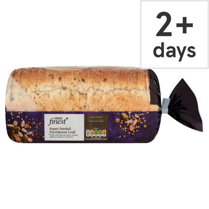Picture of Tesco Finest Super Seeded Farmhouse Loaf 800G