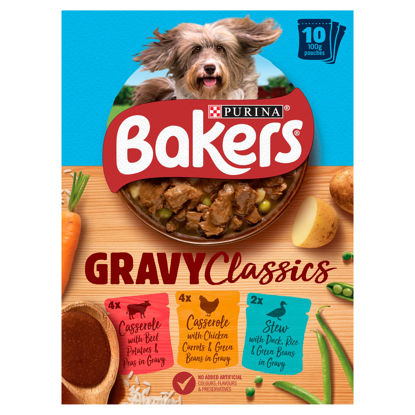 Picture of Bakers Home Classics Variety 10X100g