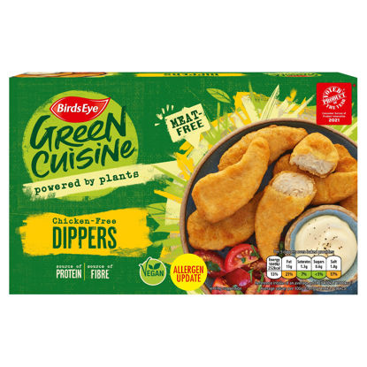 Picture of Birds Eye Green Cuisine Chicken-Free Dippers 220g