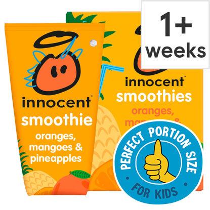 Picture of Innocent Kids Orange Mango & Pineapple 4X150ml