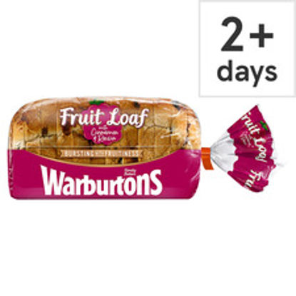 Picture of Warburtons 400G Raisin Loaf With Cinnamon