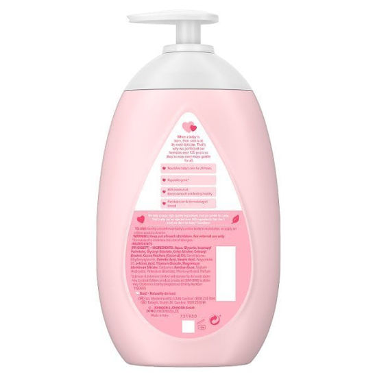 Picture of Johnsons Baby Lotion with Coconut Oil 500ml