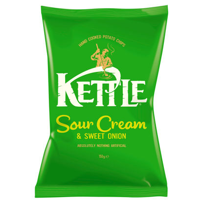 Picture of Kettle Chips Sour Cream & Sweet Onion 150G