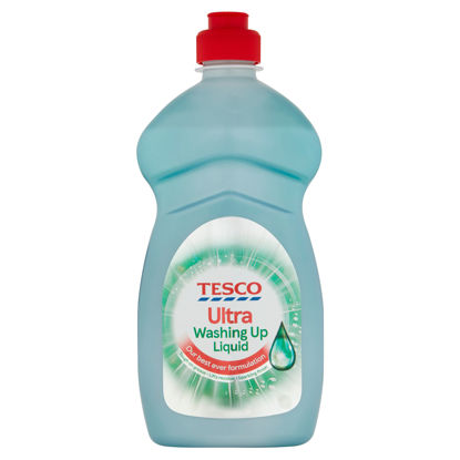 Picture of Tesco Ultra Washing Up Liquid 450Ml