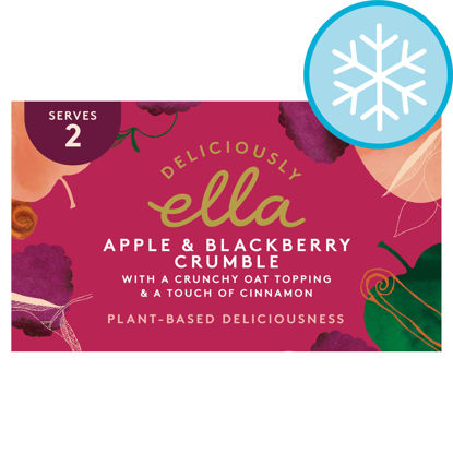 Picture of Deliciously Ella Apple & Blackberry Crumble 275G