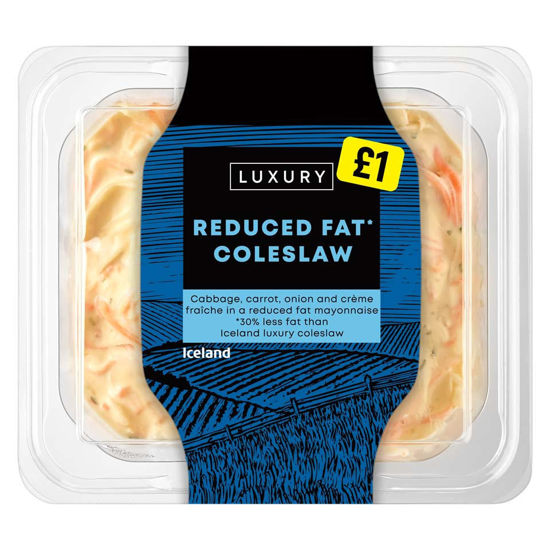 Picture of Iceland Luxury Reduced Fat* Coleslaw 300g
